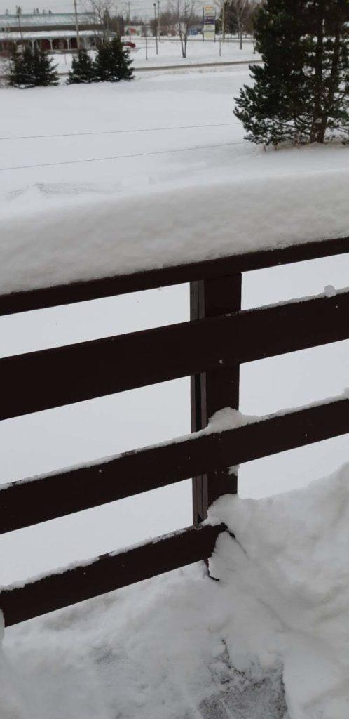 Patio railing
