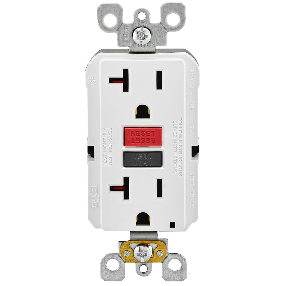 GFCI outlets are a must have near wet areas