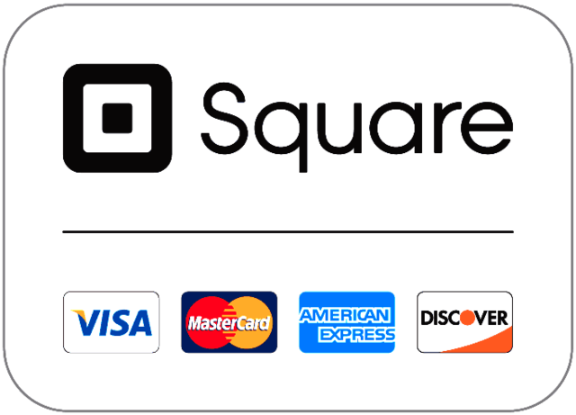 Square Point of Sale Visa, Master Card, American Express, Discover Card